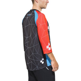 Cube Action Signature Maillot 3/4 Hombre, black'n'blue'n'flashred